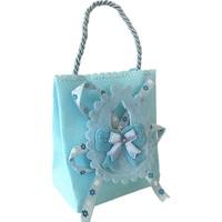 Kullanatmarket Mavi Baby Shower Şeker Kesesi