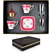 Fidex Home Porselen 2 Kişilik Cezveli Kahve Seti