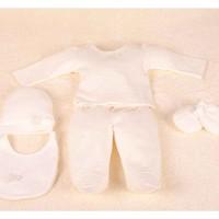 Aybi Baby 2123C 5'li Hastane Çıkış Seti Lacy Cream