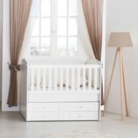 Aymini Arman Mini Bebek Odası Mdf 70 x 130 Beşik