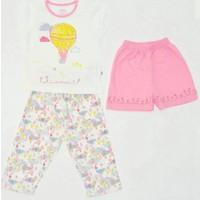 Aziz Bebe 9209 3'lü Bebek Pijama Takımı