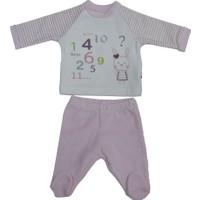 Baby Center 68235 Kadife Patikli Kız Bebek Pantolonu