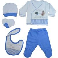 Baby Center S79781 Kemanlı 5'li Bebek Zıbın Seti