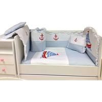 Baby Home 39001 Alt Açmalı Bebek Uyku Seti Külahlı Ayı