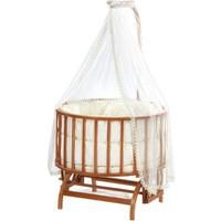 Baby Tech Topkapı Ahşap Bebek Beşiği