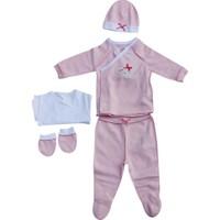 İdil Baby 6501 Prematüre Kız Bebek Zıbın Takımı