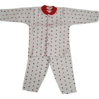 Sebi Bebe 51049 Pijama Takımı Gül Baskılı