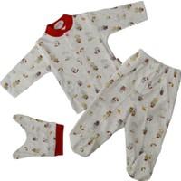 Sebi Bebe 52504 Şemsiyeli Bebek Pijama Takımı