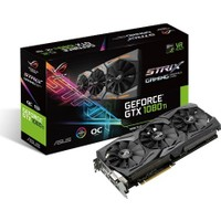 Asus ROG STRIX Nvidia GeForce GTX 1080 Ti 11GB OC 352Bit GDDR5X (DX12) PCI-E 3.0 Ekran Kartı ROG-STRIX-GTX1080TI-O11G-GAMING