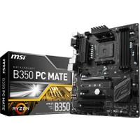 MSI B350 PC MATE Amd B350 3200+ (OC) DDR4 Soket AM4 ATX Anakart