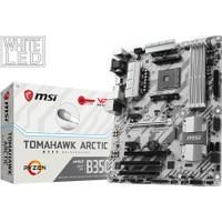 MSI B350 TOMAHAWK ARCTIC Amd 3200+ (OC) DDR4 Soket AM4 ATX Anakart