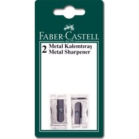 Faber Castell Bls. Metal Kalemtraş Yedekli, 2'li
