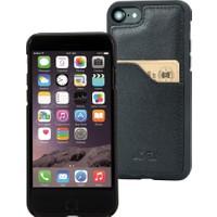 DC Krispy Deri Apple iPhone 7 Arka Kapak Kartlıklı