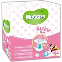 Huggies Kızım İçin Bebek Bezi Avantaj Kutusu 3 Beden 150 Adet