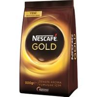 Nescafé Gold Çözünebilir Kahve, Ekopaket 500 gr