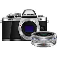 Olympus OM-D E-M10 Mark II 14-42mm Lens (Silver)