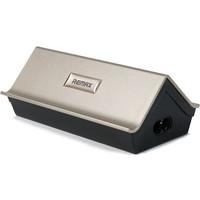 Remax RU-U2 4-Port USB Standlı Masaüstü ve Seyahat Şarj Cihazı (İthalatçı Garantili)