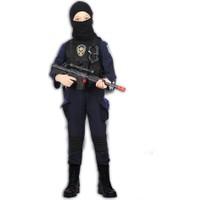 Hkostüm Polis Özel Harekat Timi Çocuk Meslek Kostümü