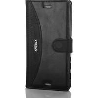 Gpack Sony Xperia X Kılıf Standlı Serenity Cüzdan