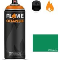 Flame Sprey Boya 400 ML Fo-672 Turquoise