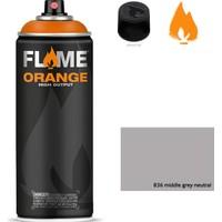 Flame Sprey Boya 400 ML Fo-836 Middlegrey Neutral