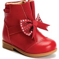 Vicco Patik Deri Çizme Kırmızı