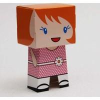 Mevlid Hediyesi Kız Karakter Figür Kutu - Mevlüt Şekeri Kutusu, 25 Adet