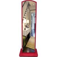 First Mobilya Lale Boy Aynası / Kırmızı