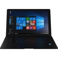 "Hometech HTBOOK 14B Intel Atom Z3735F 2GB 32GB SSD Windows 10 Home 14.1"" Taşınabilir Bilgisayar - Siyah"