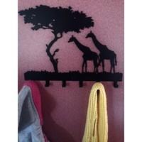 Duvar Askısı Zürafa
