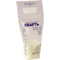 Kraft Süt Saklama Poşeti (25'li)