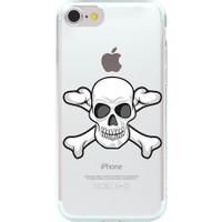 Remeto Apple iPhone 7 Plus Kuru Kafa Resimli Şeffaf Silikon Kılıf