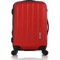 Esta Rubon - PiCante Kırmızı Kabin Boy Valiz (%100 PP)