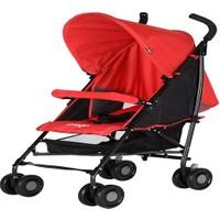 Prego Baby 2043 Persa Çift Yönlü Bebek Arabası Kırmızı