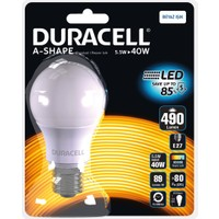 Duracell Led Ampul A60-E27 5,5W ( 40 Watt ) Beyaz Işık