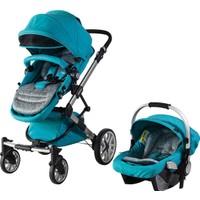 Prego 2070 Laon Travel Sistem Bebek Arabası - Mavi