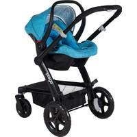 Prego 2075 Viola Travel Sistem Bebek Arabası - Mavi