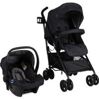 Prego 2076 Granada Travel Sistem Bebek Arabası - Siyah