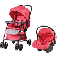 Prego 2077 Rover Travel Sistem Bebek Arabası - Kırmızı