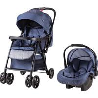 Prego 2077 Rover Travel Sistem Bebek Arabası - Lacivert