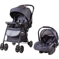 Prego 2077 Rover Travel Sistem Bebek Arabası - Siyah