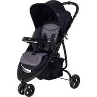 Crystal Baby 216 Benito Bebek Arabaları - Siyah