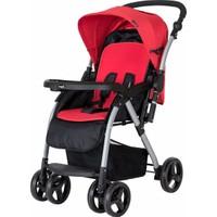 Crystal Baby 298 Maria Çift Yönlü Bebek Arabası Kırmızı