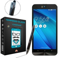 Case Man Asus Zenfone Selfie ZD551KL + Dokunmatik Stylus Kalem