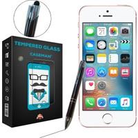 Case Man iPhone SE + Dokunmatik Stylus Kalem