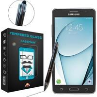 Case Man Samsung Galaxy On5 Kırılmaz Cam + Dokunmatik Stylus Kalem