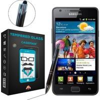 Case Man Samsung Galaxy S2 i9100 + Dokunmatik Stylus Kalem