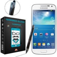 Case Man Samsung Galaxy S4 Mini + Dokunmatik Stylus Kalem
