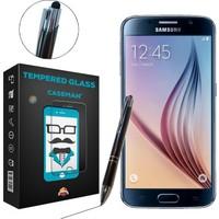 Case Man Samsung Galaxy S6 + Dokunmatik Stylus Kalem