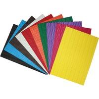 Caretta A4 10'lu Eva Dalga Kabartmalı Karışık Renk